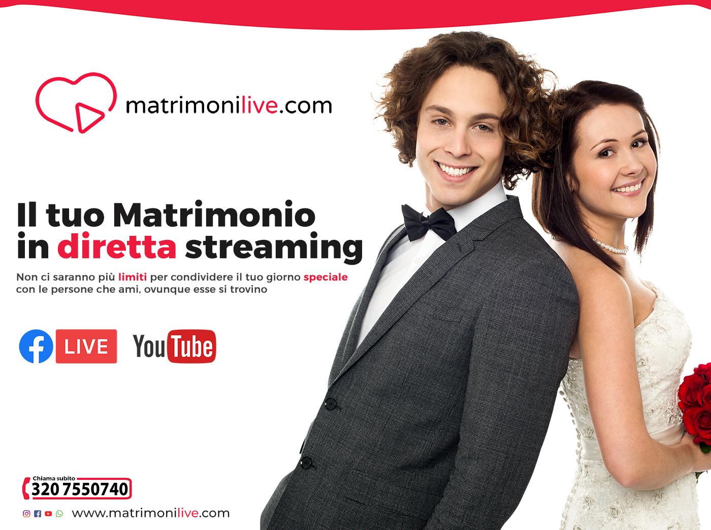 Il Matrimonio in diretta streaming